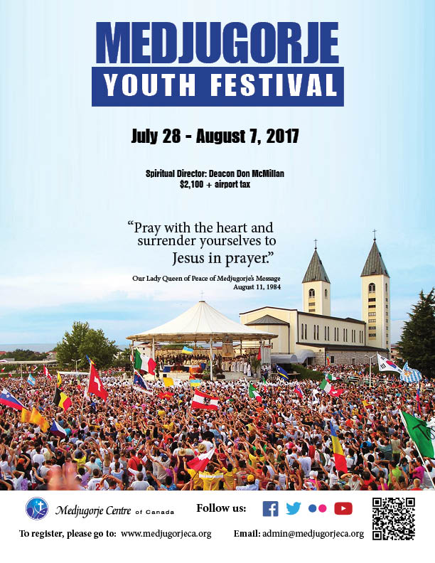 Medjugorje Pilgrimage July 2017