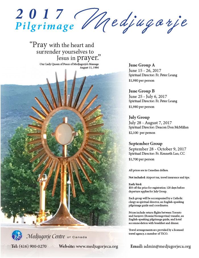 2017 Medjugorje Pilgrimage