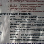 Weekly Prayer Program