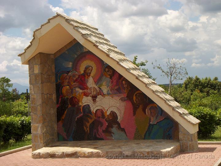光明五端 - 耶穌建立聖體聖事