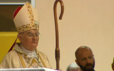 Archbishop Hoser appointed by Pope Francis begins his mission in Medjugorje