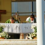 Holy Mass in St. James Church (outdoor)