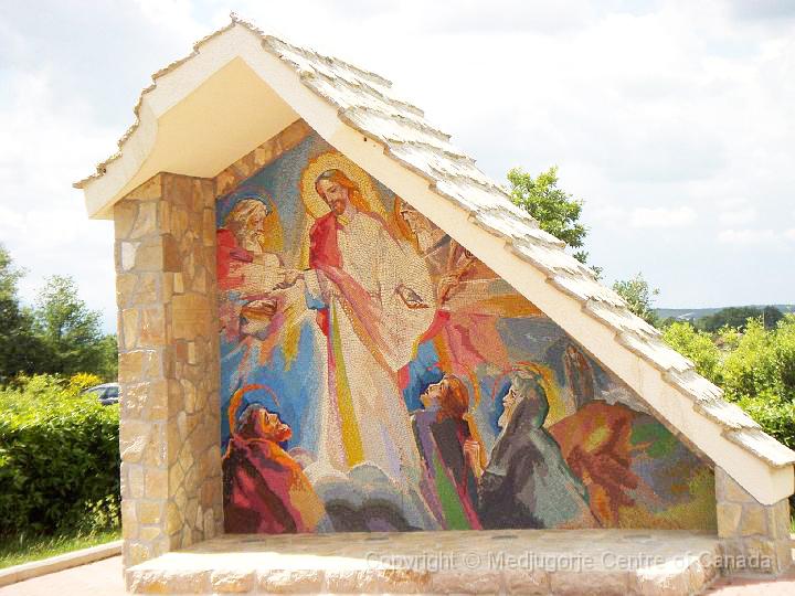 光明四端 - 耶穌在大博爾山顯容